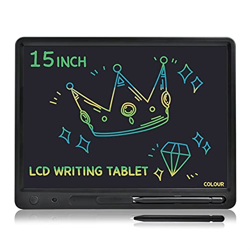 Tablero de dibujo 15 pulgadas Gran pantalla grande Talla LCD Tableta Aprendizaje...