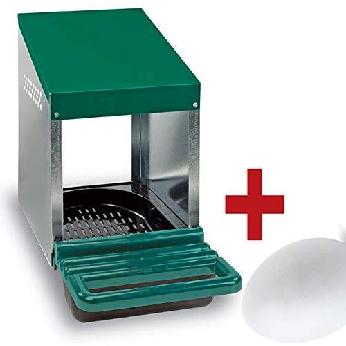 FINCA CASAREJO Ponederos para gallinas + 1 Huevo Macizo de Regalo. Ponedero Huevos Eco 1 Hueco