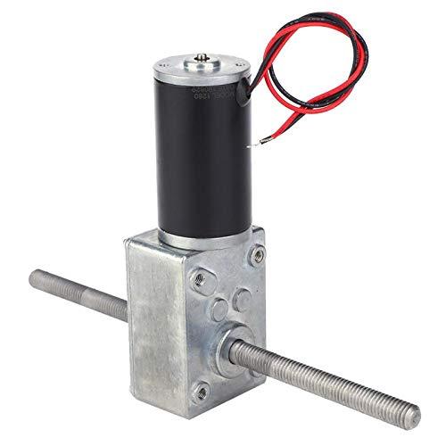 Motor reductor de engranajes de doble eje, motor de engranajes helicoidales de cobre puro, adecuado para cerradura electrónica, campana extractora, soporte de exhibición(500)