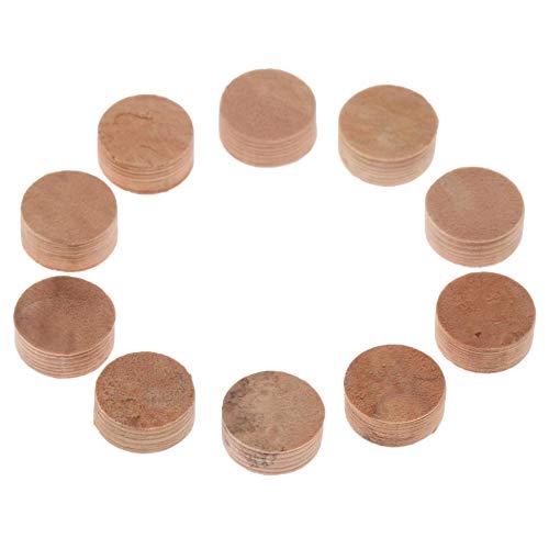 TOOGOO 10 Stücke Wasser Schlüssel Wasser Schlüssel Spit Ventil Kork Pad Für Trompete Posaune Reparatur Zubeh?r Durchmesser 9 Mm Dicke 4 Mm