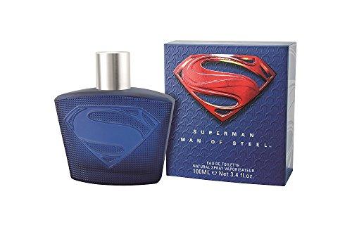 SUPERMAN MAN OF STEEL Eau de Toilette 100 ml   Herren-Duft   Eau de Toilette   edler Flakon   Versandkostenfrei!