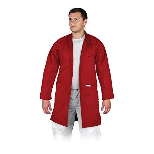 Leber&Hollman LH-COATER_CXXL Bivico Schutzschürze, Rot, XXL Größe