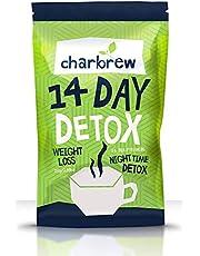 Charbrew Night Time Thee Detox 14 dagen Afslankthee (NIET LAXEREND)