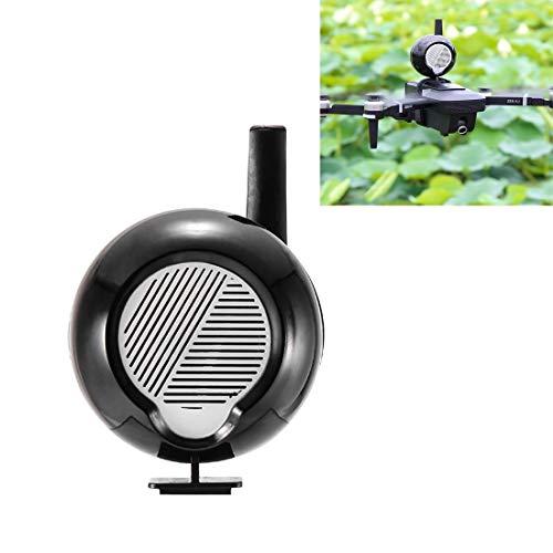 Hanks' Shop Drones,Loudspeaker Suitable for DJI Mavic Series/Mavic Air 2 Long-Range Non-Interference Drones with Earphones to Transmit Alarm Speakers at High Altitudes Black (Color : Black)