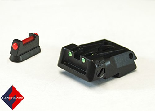 Check Out This Fusion/LPA CZ Shadow Fully Adjustable Sight Set - Fiber Optic