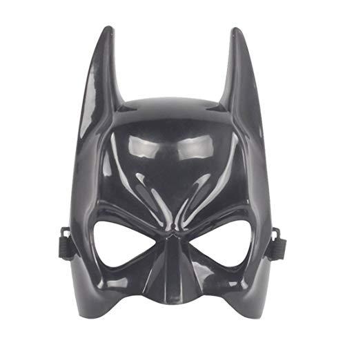 Coolgun Máscara de Halloween para niños de Cosplay Boy Película de juguete para 3 4 5 6 7 8 9 10 años de edad máscara (Batman)