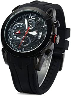 T5 H3391G-C Round Rubber Watch for Men