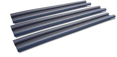 Wowe 3X Zugluftstopper bis 95x11 Türdichtung Zugluftrolle Türwindstopper Tür dichten Luftzugstopper Schutz vor Lärm und Zugluft