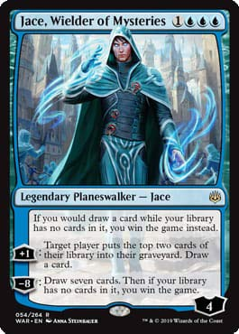 Magic: The Gathering - Jace, Wielder of Mysteries - War of The Spark