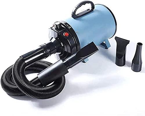 XIAOER ペット乾燥機ドッググルーミング力ヘアドライヤーグルーミングブロワーヒーターブローノイズリダクション、送風機の無段階レギュレーションおよび2つの温度調整