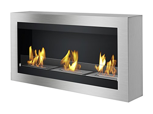 Save %15 Now! IGNIS Wall Mounted Ventless Bio Ethanol Fireplace - Magnum