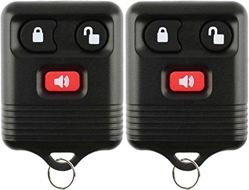 KeylessOption Keyless Entry Remote Control Car Key Fob Alarm for Ford Lincoln...