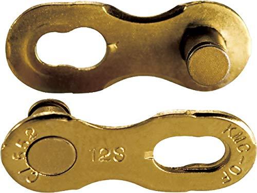 ケイエムシー(KMC) CL552 12SPEED用ミッシングリンク TI-GOLD 2ペア1セット KMC-CL552-TI2