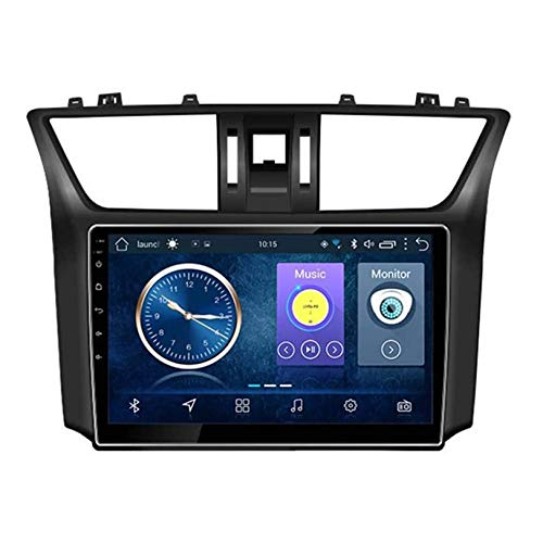 WHL.HH GPS Navegación Radio Estéreo Auto Multimedia Android 10.0 por Niss an Sylphy 2012-2017 Doble DIN 6.2' Auto Auto Auto Jugar / 4G WiFi/Dab/SWC