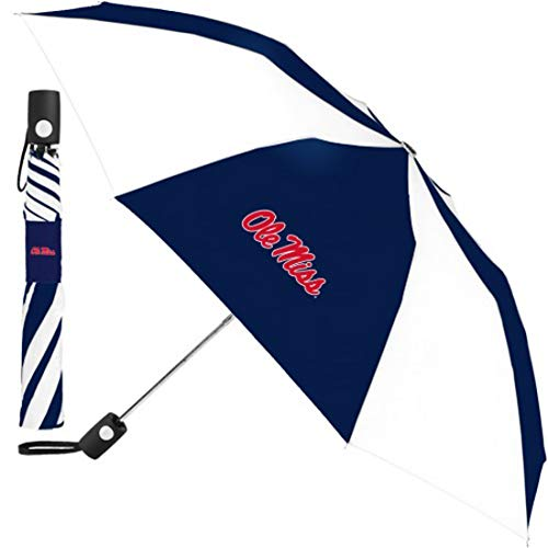 Amazing Deal WinCraft NCAA Mississippi Ole Miss Rebels Automatic Umbrella, 42 inches