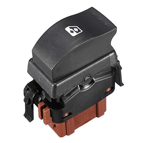 WZhen Interruptor De Coche De Control De Ventanas Eléctricas Delantera Izquierda Abs para Renault Master Trafic