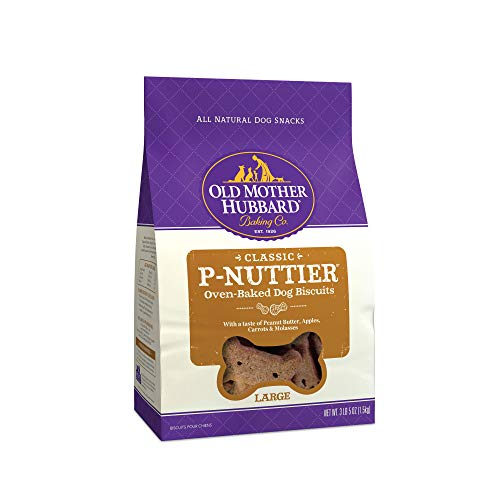 Old Mother Hubbard Crunchy Classic Natural Dog Treats P-Nuttier