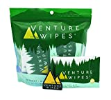 Venture Wipes: Large 12x12 Inch Individually Wrapped Body Wipes - Natural Ingredients & Biodegradable. Textured Wipe with Tea Tree Oil is an Outdoor Shower in a Pouch #DirtHappens (10)