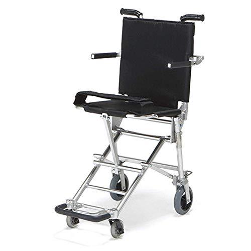 Silla de Ruedas Plegable de Titanio Ultraligero Scooter de V