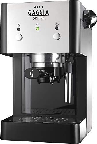 Gaggia ri8425/11 Macchina da caffè manuale ri842511/Kaffeevollautomat, schwarz/silber