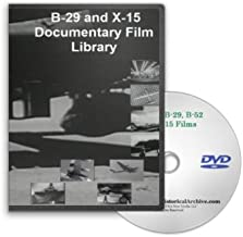 B-29 and X-15 Documentary Film Library DVD -Flying Wing, Bombing Operations, Manufacturing, War Bombing Runs and More.