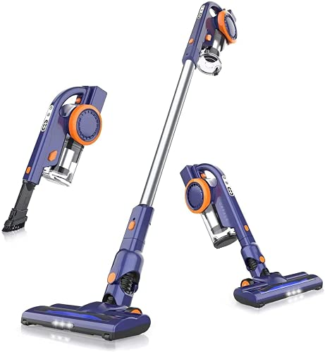 ORFELD Cordless Vacuum Cleaner, 20000Pa Stick Vacuum 4 in 1, Lightweight, Up to 50 Minutes Runtime, with Dual Digital Motor for Deep Clean Whole...