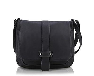 Scarleton Accent Strap Flap Crossbody Bag H1539