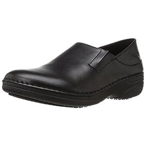 Spring Step Women's Manila Work Shoe, Black, 10 M US