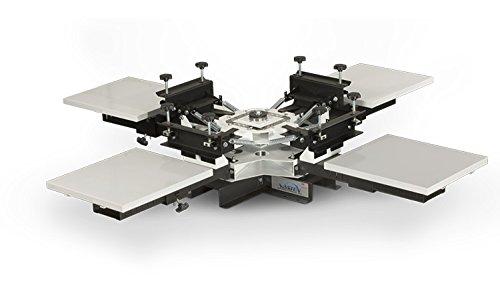 Vastex V-100 Screen Printing Press - 4 Station / 4 Color
