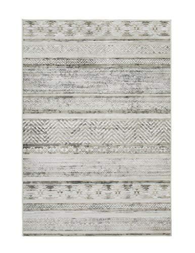 Luxor Living intageteppich Famos, Designerteppich, hochwertig gewebt, pflegeleicht, Farbe:Sand, Polyamid, 80 x 150 cm
