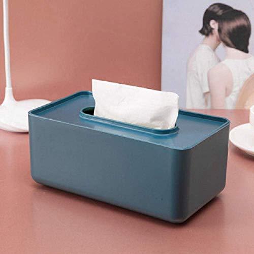 Boîte de tissu Boîte de tissu Boîte de rangement Type de tissu Création Tissue de tissu Cache en plastique Couvercle en plastique Extraction de la boîte de séjour Minimaliste Maison Maison Maison Toil