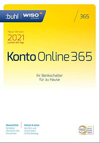 WISO Konto Online 365 (aktuelle Version 2021) [Online Code] | PC | PC Aktivierungscode per Email