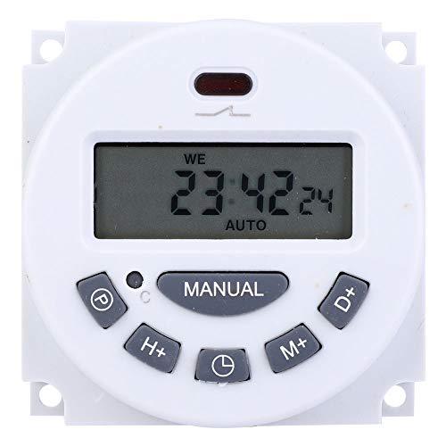 Interruptor de Control de Temporización de Temporizador de Ciclo Mini Interruptor de Temporización Digital Interruptor de Control de Tiempo Temporizador de Ciclo Programable