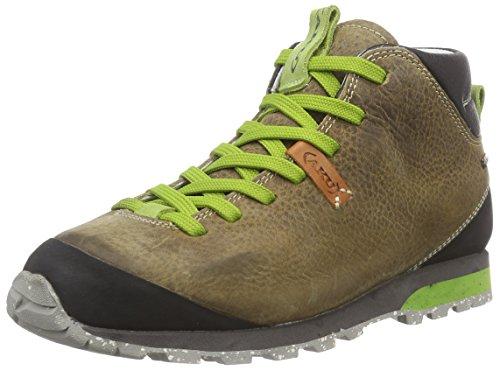 AKU BELLAMONT FG MID GTX Unisex-Erwachsene Outdoor Fitnessschuhe, Mehrfarbig (beige/green 220),44.5 EU