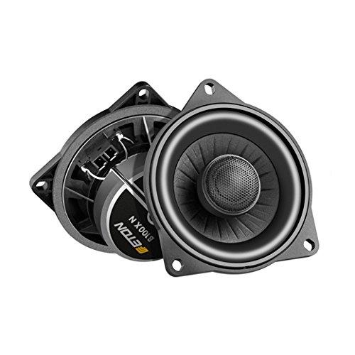 Haut-parleurs coaxiaux Eton UG B100 XN - 10 cm - Système Plug and Play - Pour BMW