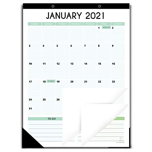 Fridge Calendar 2021-2022 for Refrigerator by StriveZen, 12x16 Inches, Large Monthly Magnetic Calendar, Vertical, Jan 2021-Jul 2022, Perfect for Fridge, Locker, Cabinets, Home-Office, Busy Families
