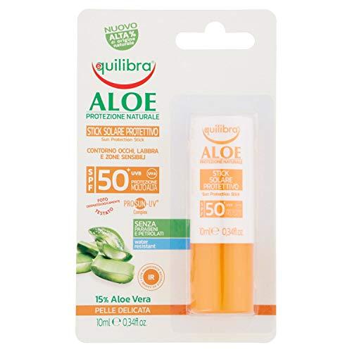 EQUILIBRA Sun Fp50 Stick Cuerpo Aloe 10 ml Producto Solar Para la...