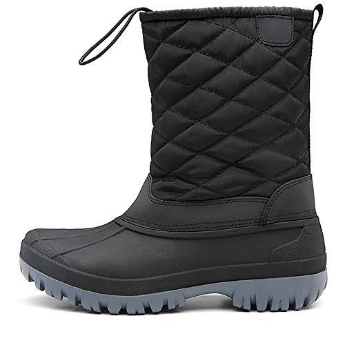 Botas de Nieve para Mujer, Invierno Outdoor Caliente Lluvia Antideslizante Impermeable Forrado Botas 36-42