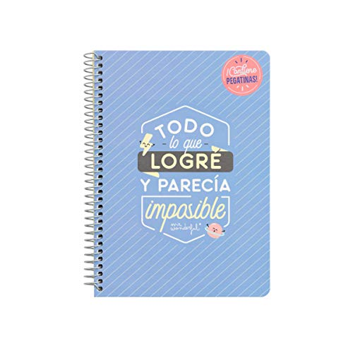 Dhr. Prachtig klein notitieboekje - alles wat ik heb bereikt, meerdere kleuren, één maat