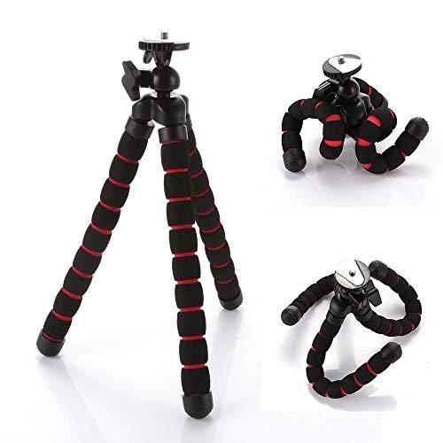 DAXINIU Negro Universal Mini Pulpo Portable Flexible de Soporte de la cámara DV trípode for el sostenedor del teléfono Canon Nikon Accesorios de la cámara