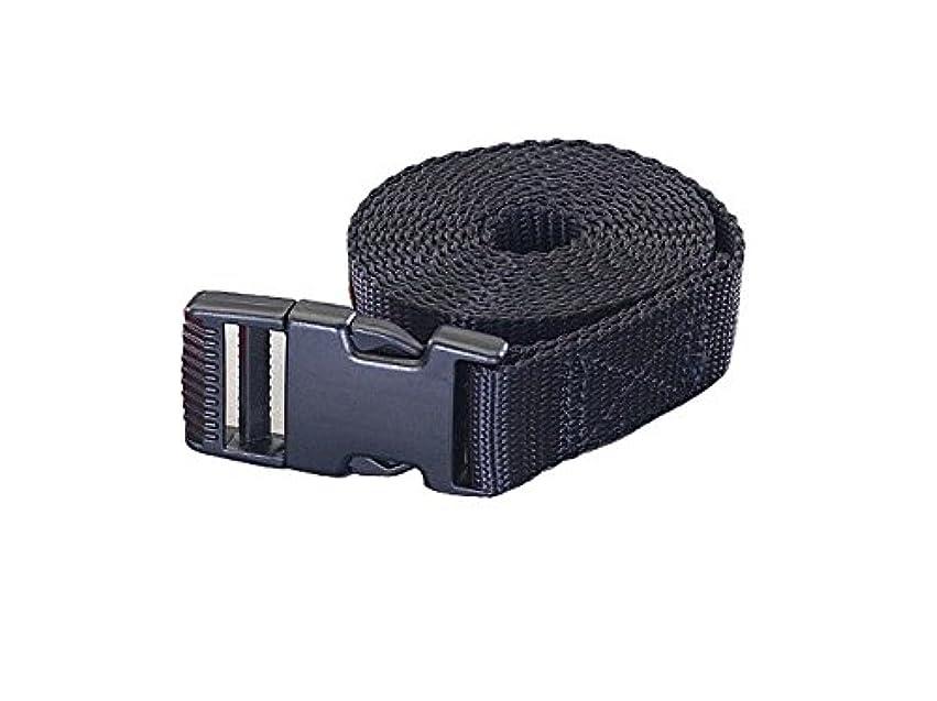 貸す限りなく限界ESCO (エスコ)25mmx2.0m 荷締ストラップ(黒)EA982BA-52
