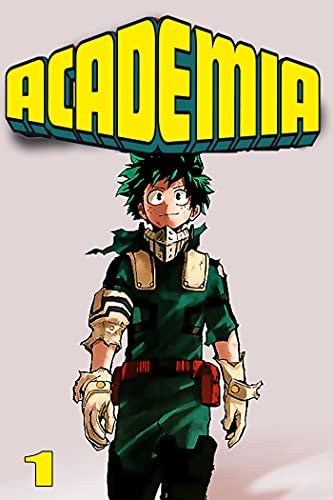 Guts-Manga-Full-Series: Academia Volume 1 (English Edition)
