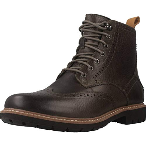 Clarks Batcombe Lord, Botas Chelsea Hombre, Gris (Taupe...