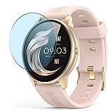Vaxson 3 Stück Anti Blaulicht Schutzfolie, kompatibel mit AGPTEK LW11 smartwatch Smart Watch, Displayschutzfolie Bildschirmschutz [nicht Panzerglas] Anti Blue Light