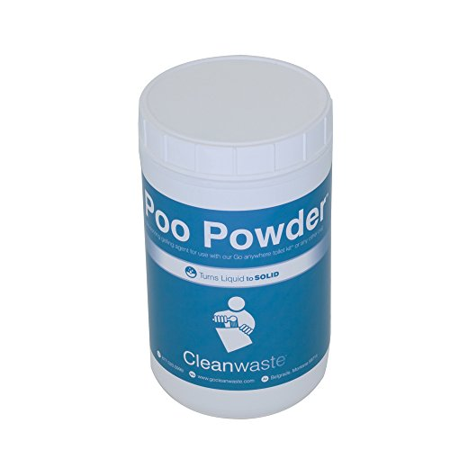 Cleanwaste Poo Powder Waste Treatment-120 Use (D105POW)