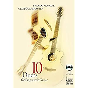 10 Duets for Fingerstyle Guitar: Including Audio CD with 3 Video Clips