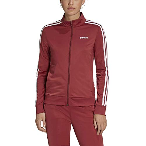 adidas Female Essentials Tricot Track Top, Legacy Red,L