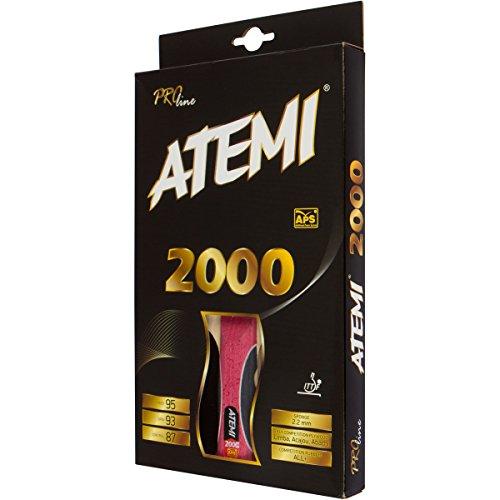 Atemi 2000 Pong Pro Line 2000 Tischtennisschläger für Erwachsene, Unisex, Einheitsgröße