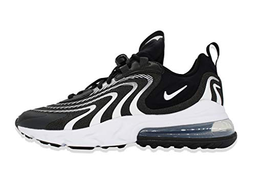 Nike Herren AIR MAX 270 React ENG Laufschuh, Black White Dk Smoke Grey Wolf Grey, 39 EU thumbnail