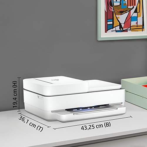 HP ENVY Pro 6420 Multifunktionsdrucker (Instant Ink, Drucker, Kopierer, Scanner, mobiler Faxversand, WLAN, Airprint) inklusive 6 Monate Instant Ink